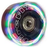 New! Firefly LightUp Quad Roller Skate Replacement Wheels - Flashy Light Up LED Wheels