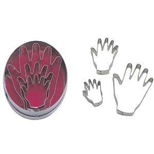 CHILDREN'S HANDS Cookie Cutter 3 PC Set