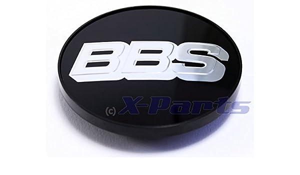 BBS bb0924258 Rueda Tapa Emblema Cromado Plata 70 mm con anillo de fijación: Amazon.es: Coche y moto