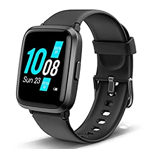 Lintelek Smart Watch, Fitness Tracker with Heart Rate Monitor, Activity Tracker with Step Counter, Sleep Monitor…