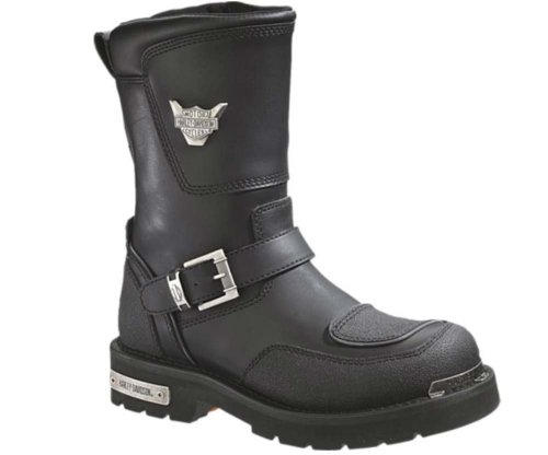 Harley-Davidson Men's Shift Motorcycle Boot,Black,10.5 M US - Shift Mens Boots