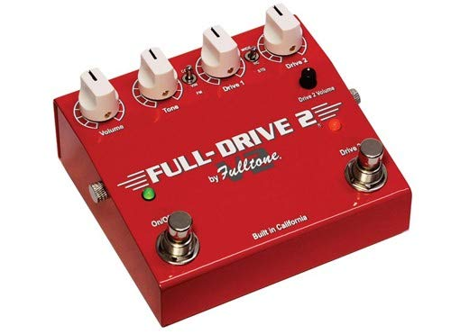 - Fulltone Full-Drive 2 V2 Overdrive Pedal with Boost