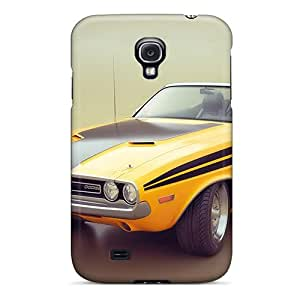 ColtonMorrill Samsung Galaxy S4 Protector Hard Phone Cover Support Personal Customs Stylish Dodge Challenger Pattern [OKj4661EMHu]