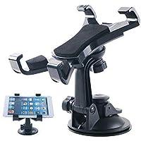 Car Tablet Mount Holder Universal Tablet Holder Mount Windshield Dashboard Tablet Car Holder Suction Cup Viscosity Mount…