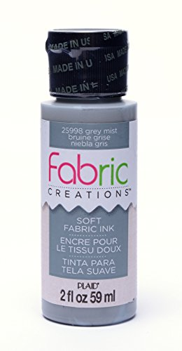 Fabric Creations Fabric Ink in Assorted Colors (2-Ounce), 25998 Grey Mist