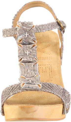 Biviel Sandal 2982 - Sandalias de vestir de cuero para mujer Marrón