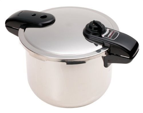(Ship from USA) Presto 01370 8Qt Pressure COOKER, Stainless Steel PRESSURE COOKING POT, Silver /ITEM NO#8Y-IFW81854179042 by Rosotion