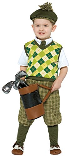 Future Golfer Toddler Costume - Small (Toddler Golf Costumes)