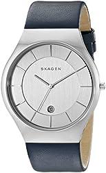 Skagen Men's SKW6159 Grenen Analog Display Analog Quartz Blue Watch
