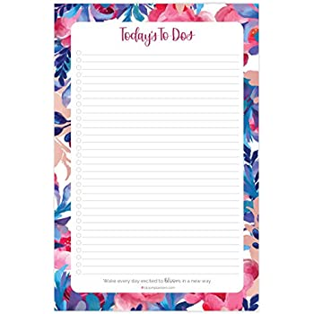 Easy Page Tear-Off 12x8.4 Planner Notepad,Undated Make-A-List Desk Calendar 60 Sheets Monthly Schedule Form