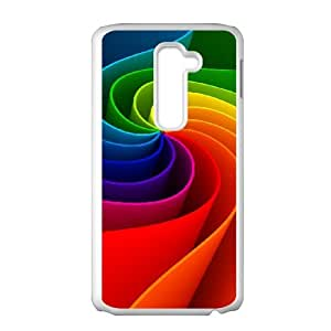 LG G2 Phone Case, With Colorful Pattern Image On The Back - Colourful Store Designed