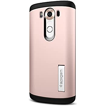 Spigen Slim Armor LG V10 Case with Air Cushion Technology and Hybrid Drop Protection for LG V10 - Rose Gold