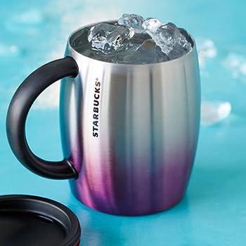 Amazon Com Starbucks Stainless Steel Desktop Mug Purple