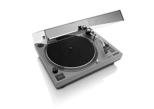 LENCO-L-3808-Grey-Giradischi-Trazione-Diretta-con-Porta-USB-e-Pre-Phono-escludibile