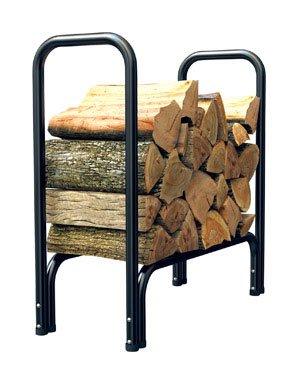 Open Hearth Log Rack 2 Ft. Black Powder Coated