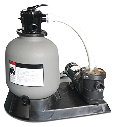 Swimline pool sand filter 2 0 hp combo 24 import it all for Pond sand filter