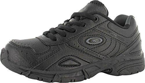 En Semelle Chaussures Hi tec À Enfants Caoutchouc Sport Xt115 Noir Lacet TxY0wYqH