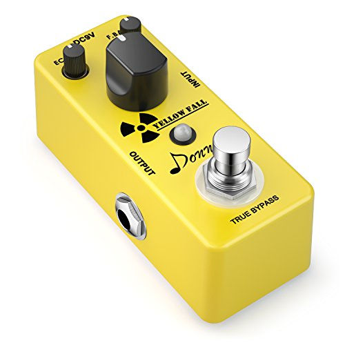 Donner Yellow Fall Vintage Pure Analog Delay Guitar Effect Pedal True Bypass (Best Phaser Pedal Ever)