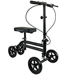 ALL NEW ECONOMY KNEE SCOOTER WALKER BY KNEEROVER The Economy Knee Scooter Walker provides a more reliable and comfortable alternative to crutches for patients needing an effective mobility solution at an affordable price. The steerable econo...