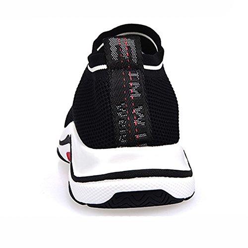 Chaussures Black Sport 42 Chaussures Chaussures Chaussures De Creux Chaussures Sauvages Mesh Respirant Hommes De Panneau Marée Sport fvZwqqRA