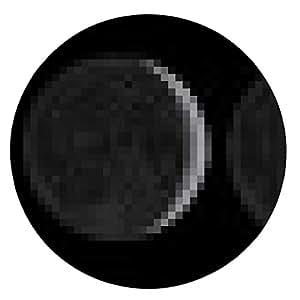 alfombrilla de ratón Fases de la Luna a través de un mes. - ronda - 20cm