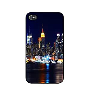 New York City Skyline iPhone 5/5s Glossy Black Case