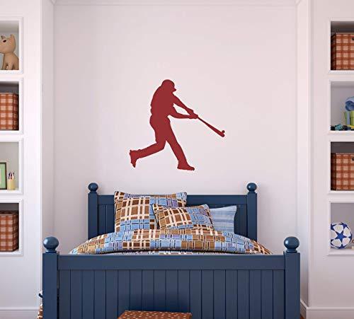 (Boys Baseball Batter Wall Decal - Wall)