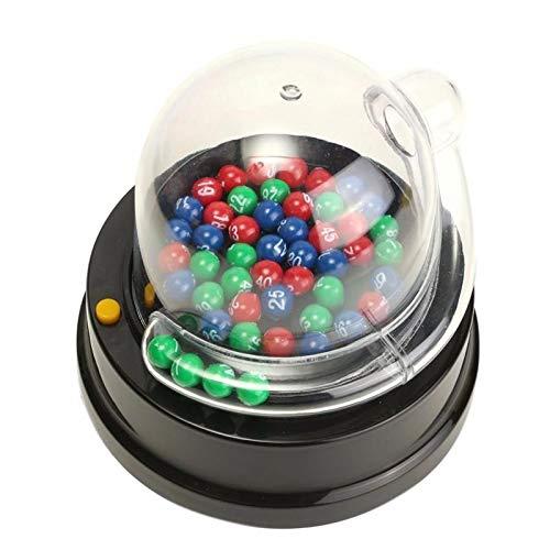 Electric Number Picking Machine Mini Lottery Bingo Games