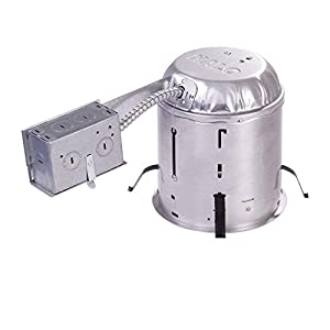 """Halo H7RICT 6"""" Remodel Housing, Insulation contact, 6 Pack"""