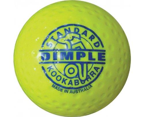 Kookaburra Hockey-Ball, Dimple-Standard gelb