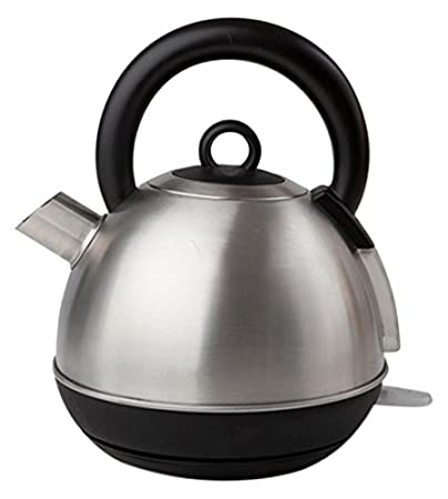 Sabichi 173102 Stainless Steel Cordless Fast Boil Electric Bulb Kettle - 1.5 Litre
