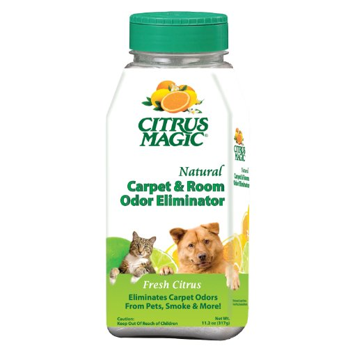 Citrus Magic Pet Carpet and Room Deodorizing Power, Pack of 3, 11.2-Ounces -