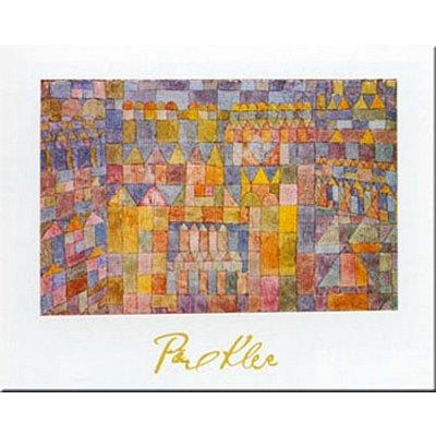 tempelviertel-von-pert-c1928-art-print-art-poster-print-by-paul-klee-31x24