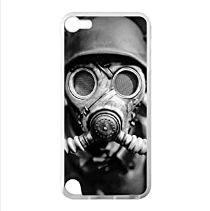 Best Custom Case - Vintage Gas Mask iPod Touch 5 TPU (Laser Technology) Case, Cell iPod TouchCover