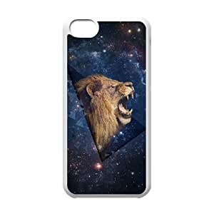 Lion Customized Cover Case for Iphone 5C,custom phone case ygtg541180