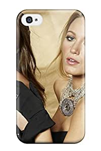 High Grade ZippyDoritEduard Flexible Case For Iphone 4/4s - Gossip Girls Blake And Leighto