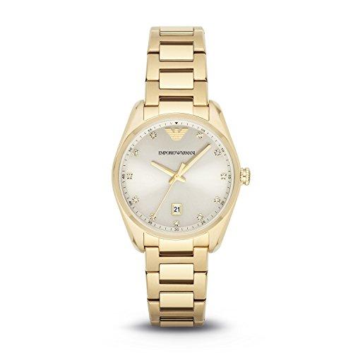 (Emporio Armani Women's AR6064 Sport Gold Watch)