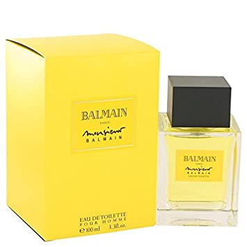 16cfd199 Amazon.com : Monsieur Balmain By Pierre Balmain For Men. Eau De Toilette  3.3 oz : Beauty