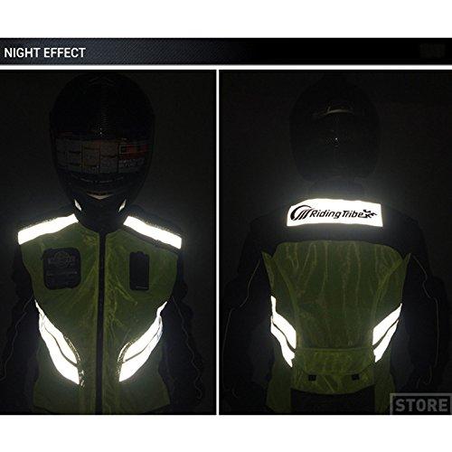 Chaleco reflectante de seguridad para motocicleta LKN
