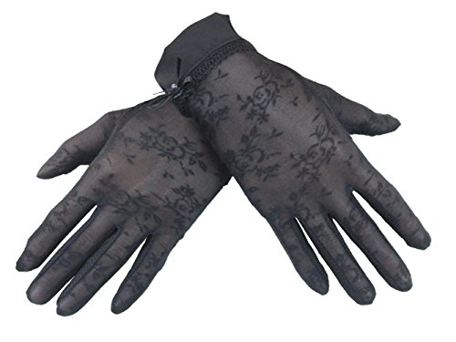 Summerm Women Screentouch Lace Gloves Sun Protection Driving Gloves Anti-skidding