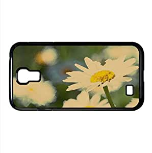 lintao diy Daisy Watercolor style Cover Samsung Galaxy S4 I9500 Case (Flowers Watercolor style Cover Samsung Galaxy S4 I9500 Case)