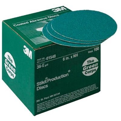 3M Abrasive 051131-01548 Green Corps Roloc Grinding Coated-Polyester Disc (Set of 100/EA) Per Single Box