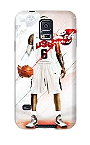 Ryan Knowlton Johnson's Shop sports usa nba basketball lebron james baskets NBA Sports & Colleges colorful Samsung Galaxy S5 cases
