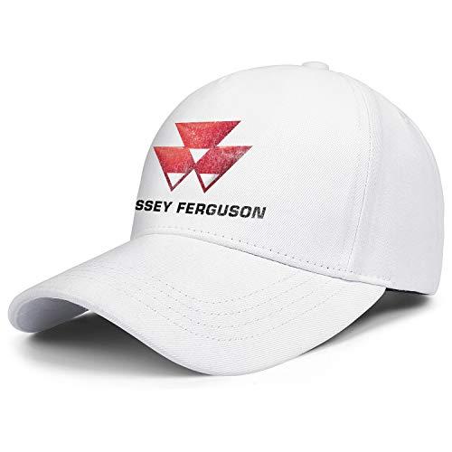 Massey-Ferguson-Farm-Tractor- Unisex Baseball Cap Printed Hat Tennis Cap for Cycling (Massey Ferguson 7 Lawn Tractor For Sale)
