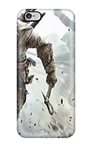 AnnaDubois Iphone 6plus Shock-Absorbing Hard Phone Cover Unique Design High-definition Assassins Creed 3 Pictures [rzf228uKYj]
