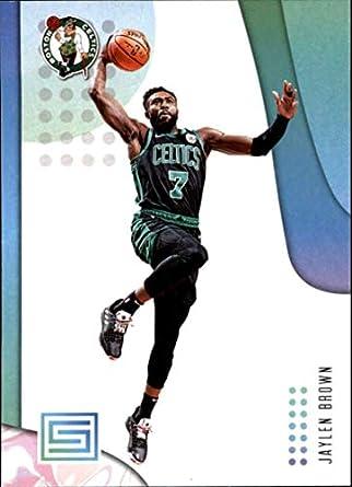 4645e1c0cd908 Amazon.com: 2018-19 Panini Status NBA Basketball Card #98 Jaylen ...