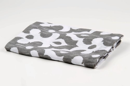 Bacati Ikat Grey 2 pc Muslin Crib Sheets
