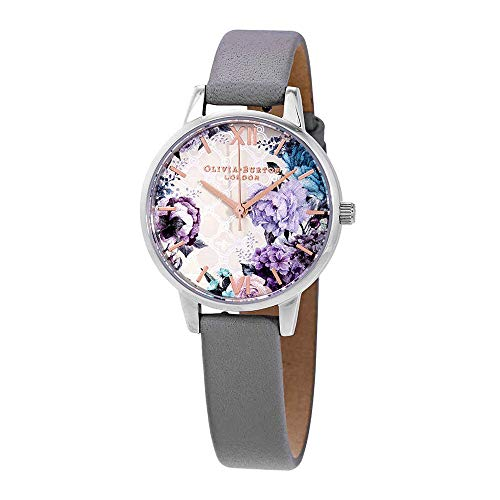 Olivia Burton Womens Analogue Quartz Watch with Leather Strap OB16EG104 ()