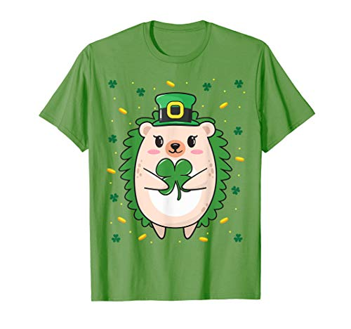 St Patrick Day Costume Ideas (Cute Hedgehog St Patricks Day Costume T Shirt Gift Tee)