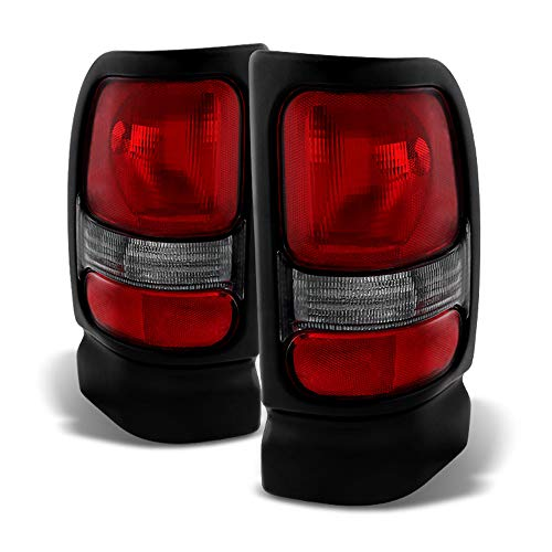 ACANII - For 1994-2001 Dodge Ram 1500 Pickup Replacement Tail Lights Lamps 94-01 Left+Right ()